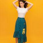 Cotton Gingham skirt